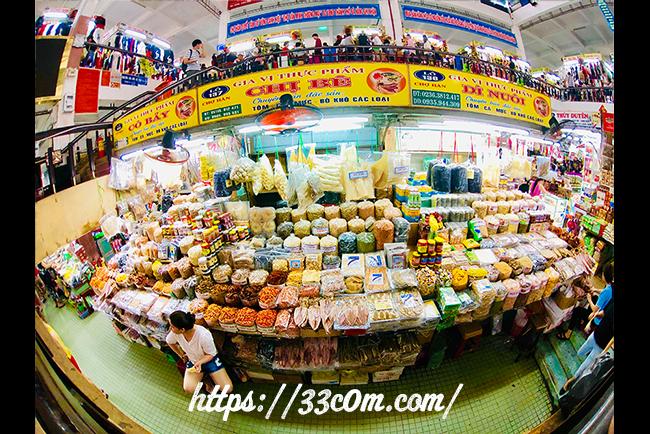 アジア旅行記_ハン市場