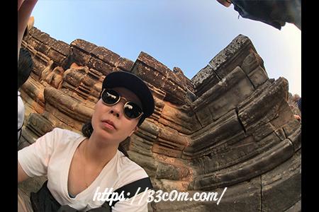 カンボジア旅行記_サンセット_2