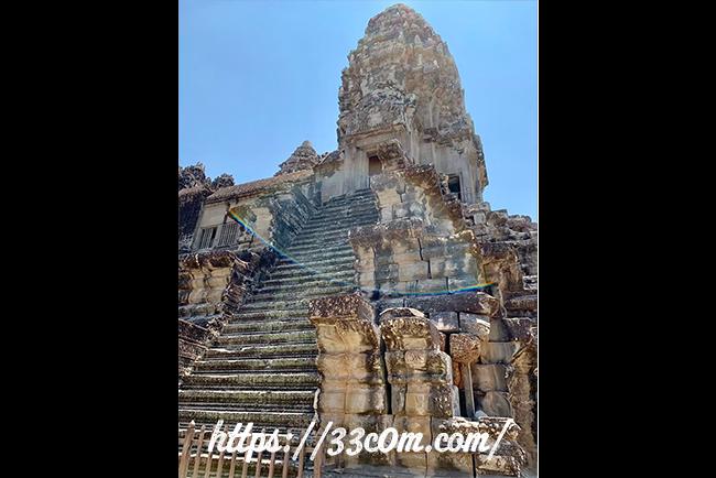 カンボジア旅行記_アンコールワット8
