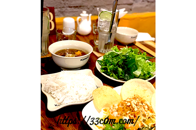 アジア旅行記_ベトナムの料理