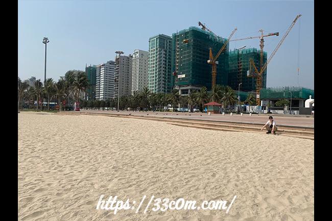 アジア旅行記_ダナンビーチ2