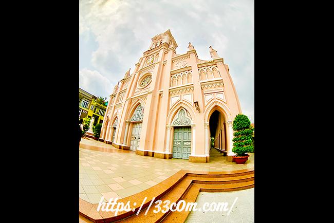 アジア旅行記_ダナン大聖堂