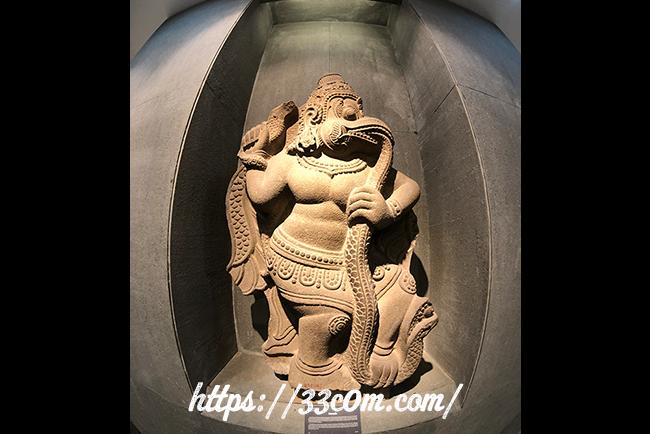 アジア旅行記_チャム彫刻博物館2