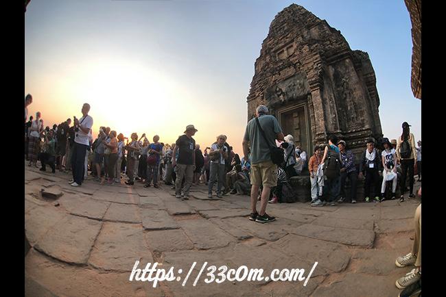 カンボジア旅行記_サンセット
