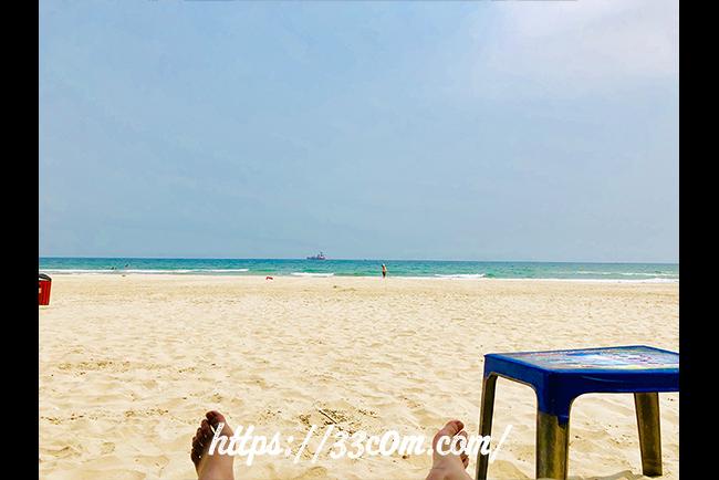 アジア旅行記_ダナンビーチ