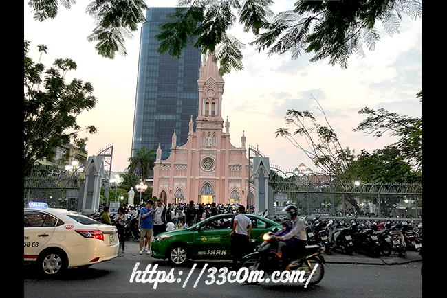 アジア旅行記_ダナン大聖堂2