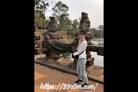 カンボジア旅行記_タプローム
