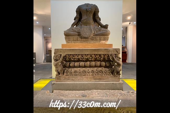 アジア旅行記_チャム彫刻博物館