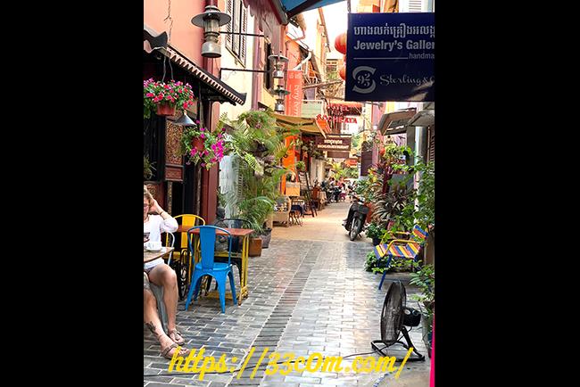 カンボジア旅行記_街並み