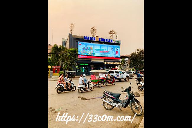 カンボジア旅行記_映画館