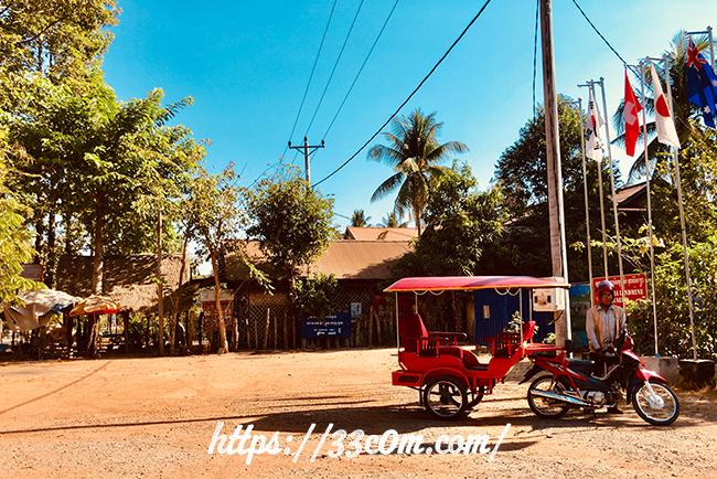 カンボジア旅行記_トゥクトゥク