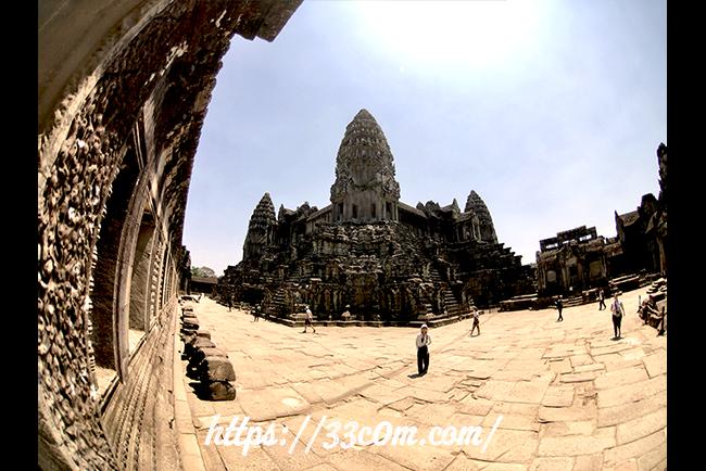 カンボジア旅行記_熱中症