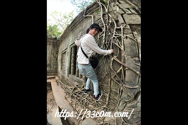 カンボジア旅行記_ベンメリア遺跡2