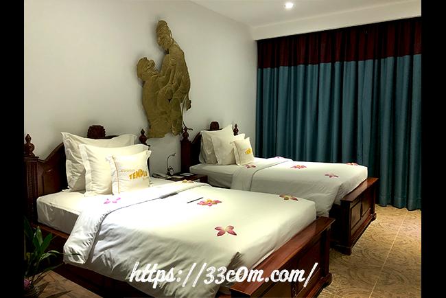 カンボジア旅行記_ベッドメイキング