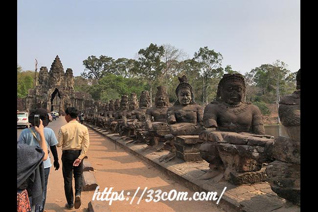 カンボジア旅行記_遺跡の入口